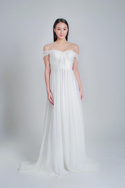simple wedding dress rental -- Louvre Bridal