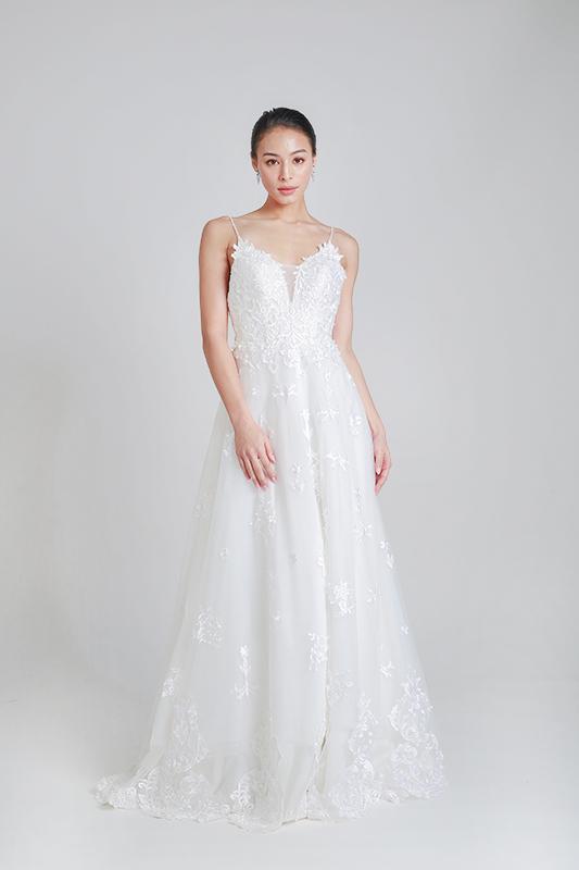 a line wedding dresses -- Louvre Bridal
