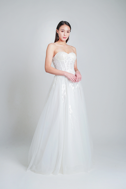 simple wedding dresses -- Louvre Bridal