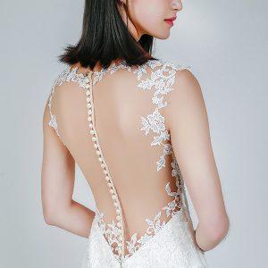 Korean wedding gowns Singapore -- Louvre Bridal