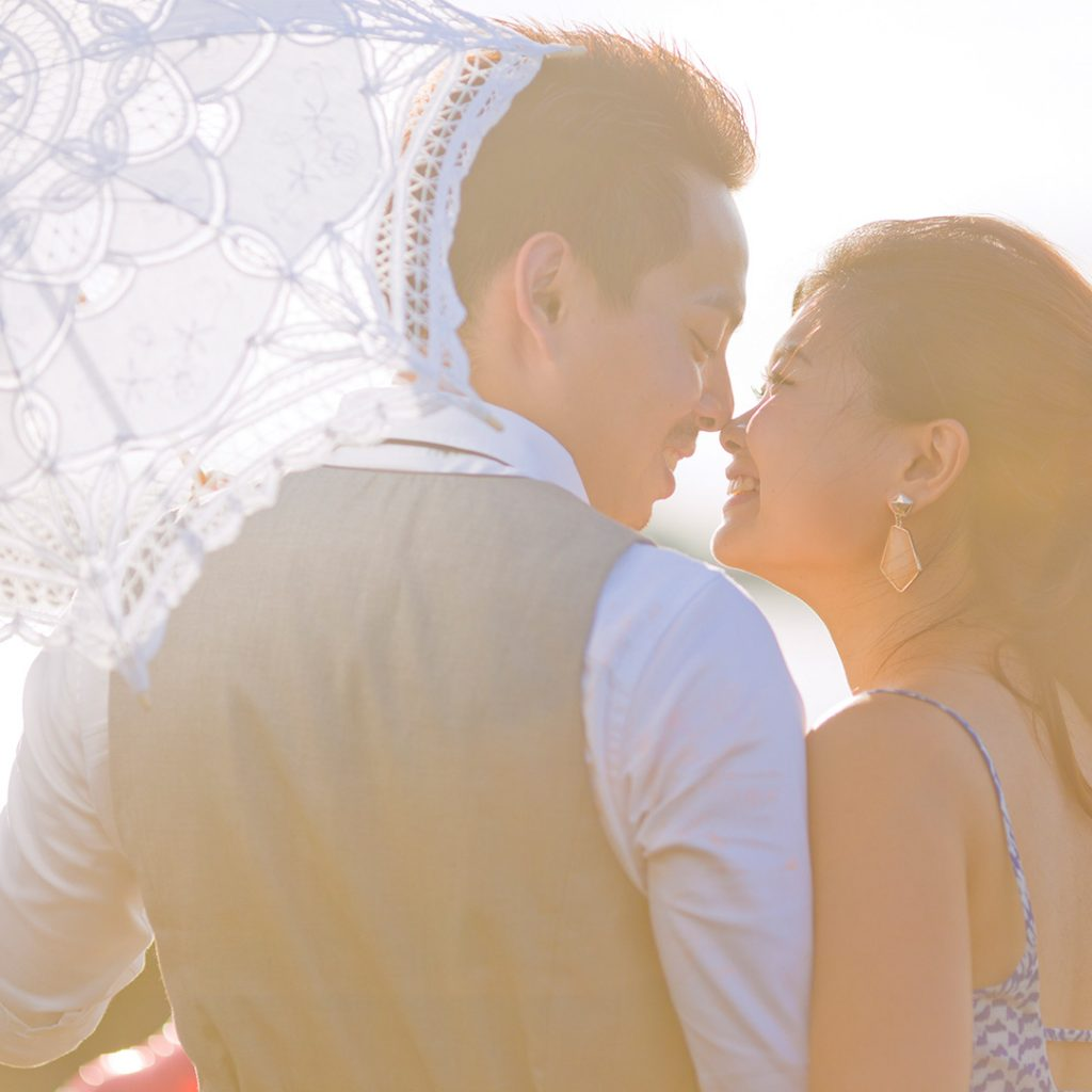 pre-wedding cinematic video Singapore --Louvre-Bridal