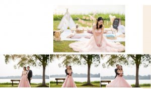pre-wedding photo shoot Singapore-Louvre Bridal